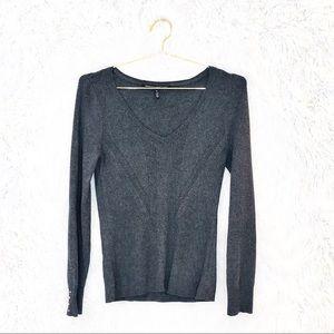 White House Black Market ribbed sweater